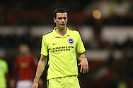 Brighton winger, Jamie Murphy (15)  during the Sky Bet Championship match between Nottingham Forest and Brighton and Hove Albion at the City Ground, Nottingham, England on 11 April 2016. Photo by Simon Davies.