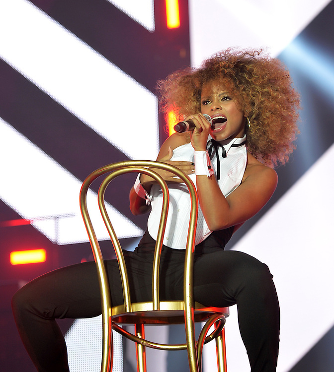 Fleur East,   on THE X FACTOR LIVE TOUR. Manchester Arena <br />Pix Dave Nelson