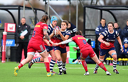 Lucy Attwood of Bristol Bears Women - Mandatory by-line: Paul Knight/JMP - 01/12/2018 - RUGBY - Shaftesbury Park - Bristol, England - Bristol Bears Women v Harlequins Ladies - Tyrrells Premier 15s