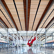 Terminal B Sacramento International Airport, CA. Public Infrastructure- Architectural Photography Example of Chip Allen's work.