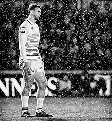 Ospreys' Ashley Beck<br /> <br /> Photographer Simon King/Replay Images<br /> <br /> Guinness Pro14 Round 12 - Dragons v Cardiff Blues - Sunday 31st December 2017 - Rodney Parade - Newport<br /> <br /> World Copyright © 2017 Replay Images. All rights reserved. info@replayimages.co.uk - http://replayimages.co.uk