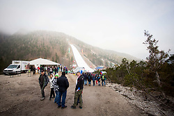 Spectators during the Ski Flying Hill Men's Team Competition at Day 3 of FIS Ski Jumping World Cup Final 2017, on March 25, 2017 in Planica, Slovenia. Photo by Ziga Zupan / Sportida