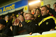 Brewers and celebrate the 1-0 win during the EFL Sky Bet League 1 match between Burton Albion and Coventry City at the Pirelli Stadium, Burton upon Trent, England on 17 November 2018.