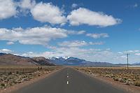 Fields-Denio Road Alvord Desert Oregon. Steens Mountain is in the distance