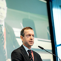 """Brussels, Belgium - 25 September 2017 <br /> """"The Future of Finances"""" conference.<br /> Daniel Gros, Director of Centre for European Policy Studies (CEPS)<br /> Photo: European Commission / Ezequiel Scagnetti"""
