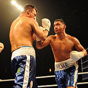April 3, 2010 - Rumble at the Rock VII - Richmond, BC, Canada - Junior Moar (Vancouver, BC) v. Billy Bailey (Bakersfield, CA) - Light Heavyweight Boxing - Moar (7-2-0, 2KO - Canadian Light Heavyweight Champion) squared of against Bailey (10-5-0, 4KO - Former WBC USNBC light Heavyweight champion) for an 8 round non-title bout. The fight went the distance with Moar earning the win by unanimous decision. The match was a West Coast Promotions feature held at the River Rock Casino in Richmond, BC, Canada.