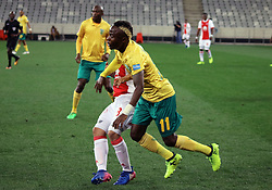 Kudakwashe Mahachi in action for Golden Arrows in the match between Ajax Cape Town and Golden Arrows at the Cape Town Stadium on Saturday, August 19, 2017.