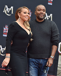Mariah Carey Hand and Footprint Ceremony. TCL Chinese Theatre, Hollywood, California. EVENT November 1, 2017. 01 Nov 2017 Pictured: Mariah Carey,Lee Daniels. Photo credit: AXELLE/BAUER-GRIFFIN / MEGA TheMegaAgency.com +1 888 505 6342