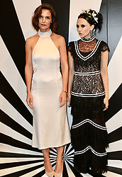 September 12, 2018 - New York City, New York, USA - 9/11/18.Katie Holmes and Stacey Bendet at the Alice and Olivia SS19 Fashion Presentation during New York Fashion Week in New York City..(NYC) (Credit Image: © Starmax/Newscom via ZUMA Press)