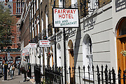 Small hotels near King's Cross and St Pancras stations, London, England