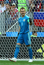 June 14, 2018 - Moscow, Russia - 14 June 2018, Russia, Moscow, FIFA World Cup, First Round, Group A, First Matchday, Russia vs Saudi Arabia at the Luzhniki Stadium. Player Igor Akinfeev  (Credit Image: © Russian Look via ZUMA Wire)