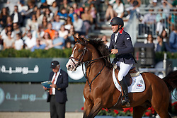 Clee Joe, (GBR), Utamaro D Ecaussines <br /> First Round<br /> Furusiyya FEI Nations Cup Jumping Final - Barcelona 2015<br /> © Dirk Caremans<br /> 24/09/15