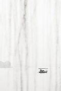 Black and white landscape with view of boat in lake at dawn, West Lake, Hangzhou, Zhejiang Province, China