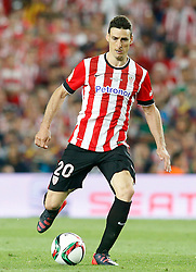 30.05.2015, Camp Nou, Barcelona, ESP, Copa del Rey, Athletic Club Bilbao vs FC Barcelona, Finale, im Bild Athletic de Bilbao's Aritz Aduriz // during the final match of spanish king's cup between Athletic Club Bilbao and Barcelona FC at Camp Nou in Barcelona, Spain on 2015/05/30. EXPA Pictures © 2015, PhotoCredit: EXPA/ Alterphotos/ Acero<br /> <br /> *****ATTENTION - OUT of ESP, SUI*****
