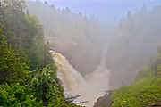 The Aguasabon River flows over Aguasabon Falls & Gorge on its way to Lake Superior<br />