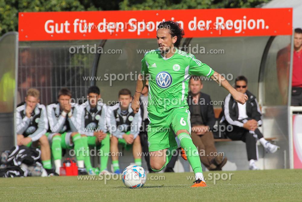 24.06.2011 Sportplatz, Gifhorn, GER, FSP, 1.FBL, VFL Wolfsburg vs Neudorf-Platendorf im Bild Sunli Tuncay (Wolfsburg #06)  EXPA Pictures © 2011, PhotoCredit: EXPA/ nph/  Rust       ****** out of GER / SWE / CRO  / BEL ******