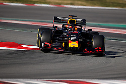 February 18, 2019 - Montmelo, Spain - MAX VERSTAPPEN of Aston Martin Red Bull Racing drives during the 2019 FIA Formula 1 World Championship pre season testing at Circuit de Barcelona-Catalunya in Montmelo, Spain. (Credit Image: © James Gasperotti/ZUMA Wire)