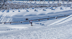 18.01.2017, Biathlonarena, Hochilzen, AUT, IBU Weltmeisterschaft Biathlon, Hochfilzen, Vorberichte, im Bild ein Athlete beim Training // Preview for the Upcoming IBU Biathlon World Championships 2017at the Biathlonarena, Hochfilzen, Austria on 2017/01/02. EXPA Pictures © 2017, PhotoCredit: EXPA/ JFK