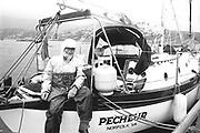 George Calder sailer kerry in 1992<br /> Now & Then - MacMONAGLE photo archives.<br /> Picture by Don MacMonagle -macmonagle.com<br /> Facebook - @killarneynowandthen