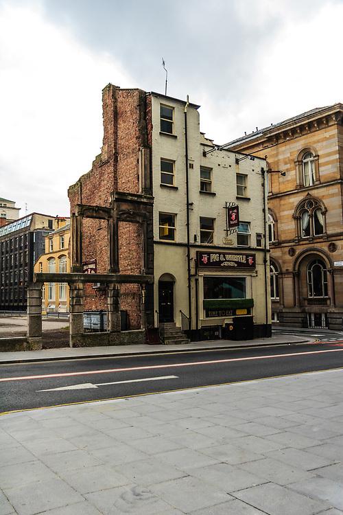 An old pub in Liverpool, United Kingdom.