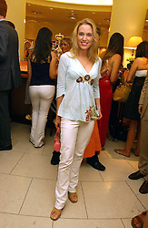 IMOGEN LLOYD WEBBER at a party hosted by Links at their store in Sloane Square, London to celebrate the forthcoming Glorious Goodwood Racing festival held on 26th July 2006.<br /><br />NON EXCLUSIVE - WORLD RIGHTS