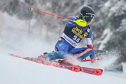 Mark Engel (USA) during 1st run of Men's Slalom race of FIS Alpine Ski World Cup 57th Vitranc Cup 2018, on March 4, 2018 in Kranjska Gora, Slovenia. Photo by Ziga Zupan / Sportida
