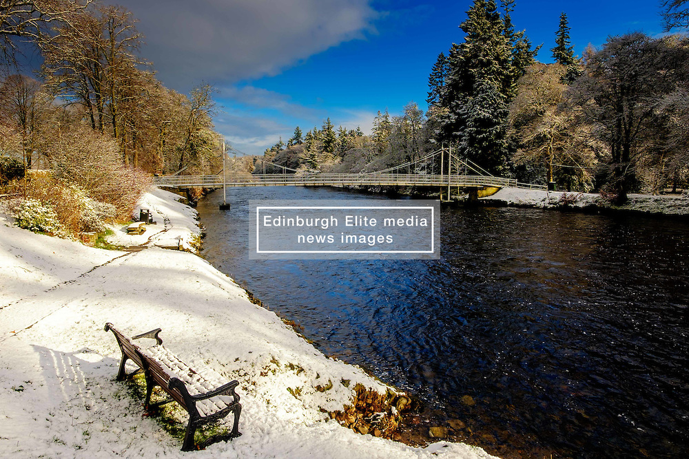 The River Ness in Inverness, Scotland in winter<br /> <br /> (c) Andrew Wilson   Edinburgh Elite media
