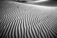 A sand dune and sand ripples at Stovepipe Wells in Death Valley National Park, California, USA