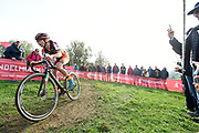 Belgium, November 1 2017:  Jolien Verschueren (Bel) Pauwels Sauzen-Vastgoedservice during the 2017 edition of the Koppenbergcross elite women's race. Verschueren finished the race in third place. Copyright 2017 Peter Horrell.