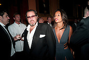Rula Jebreal; JULIAN SCHNABE, The Global launch of the 2012 Pirelli Calendar by Mario Sorrenti.  Dinner at the Park Avenue Armory. Manhattan. 6 December 2011.