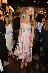 CAPRICE BOURRET at the launch of the new Rituals store at 29 James Street, Covent Garden, London on 1st September 2016.