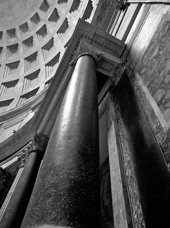 Column detail, Pantheon, Rome