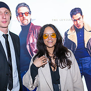 NLD/Amsterdam/20200218 - Premiere The Gentlemen, Chloe Leenheer en partner