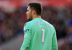 Jack Butland of Stoke City - Mandatory by-line: Paul Roberts/JMP - 04/11/2017 - FOOTBALL - Bet365 Stadium - Stoke-on-Trent, England - Stoke City v Leicester City - Premier League