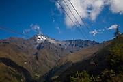 Merida_VEN, Venezuela...Regiao montanhosa em Merida, Venezuela. Na foto o teleferico de Merida...Mountainous region of Merida, Venezuela. In the picture the cable car in Merida...Foto: JOAO MARCOS ROSA / NITRO