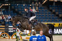 Von Eckermann Henrik, SWE, First One<br /> Stuttgart - German Masters 2018<br /> © Hippo Foto - Stefan Lafrentz