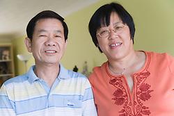 Portrait of couple,