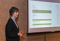 ZEIST -  Mandy Boer .  Nationaal Golf & Groen Symposium.Copyright Koen Suyk