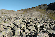Scree Slope, Cairngorm, Sottish Highlands, UK
