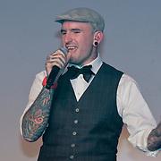 NLD/Amsterdam/20110515 - Coiffure awards 2011, optreden Ben Saunders
