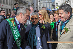 St Patrick's Day Parade, London, 17 March 2019