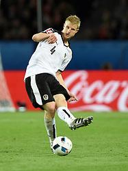 Martin Hinteregger of Austria  - Mandatory by-line: Joe Meredith/JMP - 18/06/2016 - FOOTBALL - Parc des Princes - Paris, France - Portugal v Austria - UEFA European Championship Group F