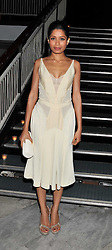 FREIDA PINTO at a dinner hosted by Calvin Klein Collection to celebrate the future Home of The Design Museum at The Commonwealth Institute, Kensington, London on 13th October 2011.