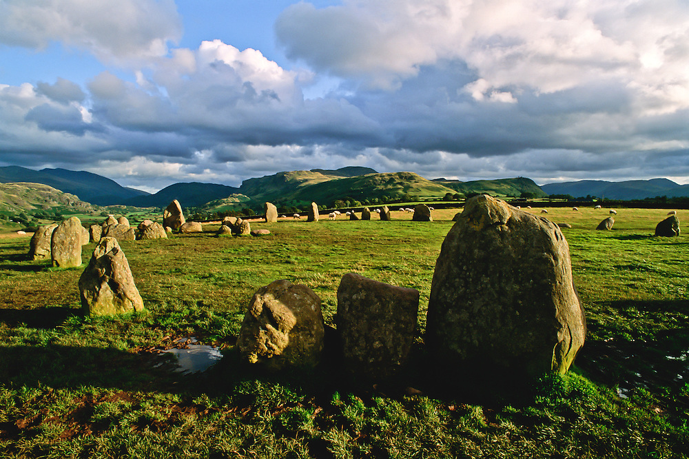 A henge of rocks in Northern England.