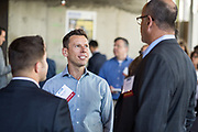 William Moon of SWENSON networks during SVBJ's BizMix presented by SWENSON at The Grad in Downtown San Jose, California, on July 31, 2019. (Stan Olszewski for Silicon Valley Business Journal)