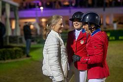 Deslauriers Lucy, Kraut Laura, USA<br /> CHIO Aachen 2021<br /> © Hippo Foto - Sharon Vandeput<br /> 16/09/21