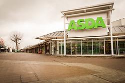 ASDA supermarket, Swanley Square shopping centre, Kent UK 2016