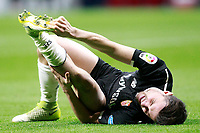 Sevilla FC's Sebastien Corchia injured during Spanish Kings Cup, Quarter finals, first leg match. January 17,2018. (ALTERPHOTOS/Acero)