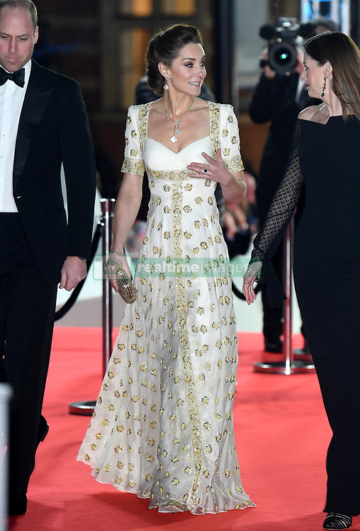 The Duchess of Cambridge attending the 73rd British Academy Film Awards held at the Royal Albert Hall, London. Photo credit should read: Doug Peters/EMPICS Entertainment