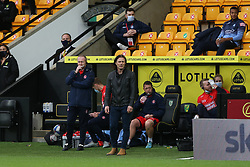 Wycombe Wanderers manager Gareth Ainsworth - Mandatory by-line: Arron Gent/JMP - 24/10/2020 - FOOTBALL - Carrow Road - Norwich, England - Norwich City v Wycombe Wanderers - Sky Bet Championship